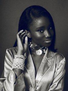 Karidja Touré promoting Chanel