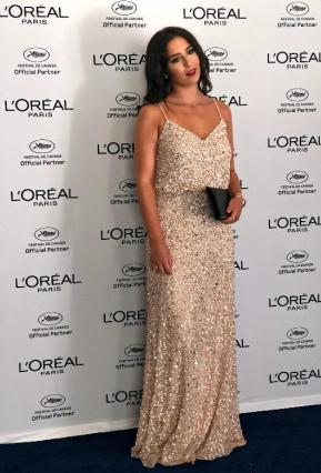 Horia at the Cannes Film Festival, in collaboration with L'Oreal